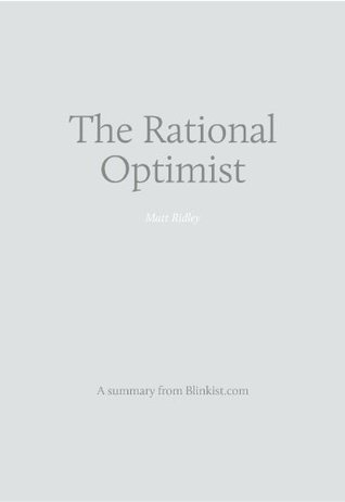 Key insights from The Rational Optimist - How Prosperity Evolves