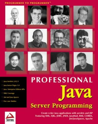 Professional Java Server Prog Ramming by Danny Ayers