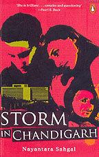 Storm in Chandigarh