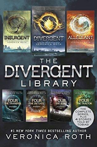 The Divergent Library: Divergent; Insurgent; Allegiant; Four