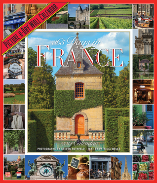 365 Days in france 2014 wall calendar by Not A Book