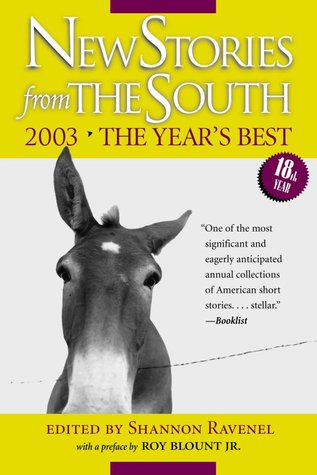 New Stories from the South 2003 by Shannon Ravenel