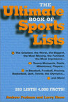 Ultimate Book of Sports Lists by Andrew Postman