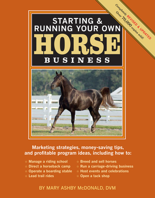Starting Running Your Own Horse Business, 2nd Edition: Marketing strategies, money-saving tips, and profitable program ideas