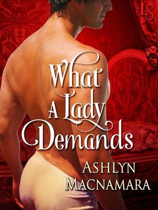 What a Lady Demands (The Eton Boys Trilogy, #2)