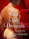 What a Lady Demands (The Eton Boys Trilogy, #2)