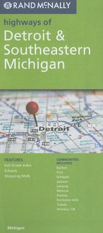 Rand McNally Highways of Detroit & Southeastern Michigan