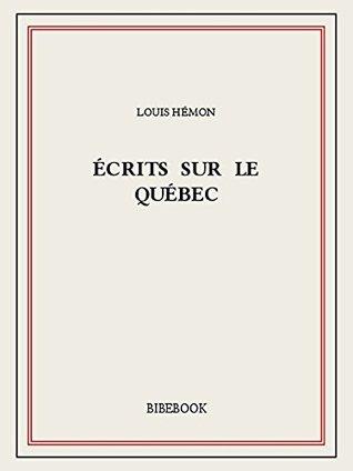 Écrits sur le Québec