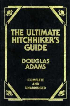 Douglas Adams Hitchhikers Guide To The Galaxy Ebook