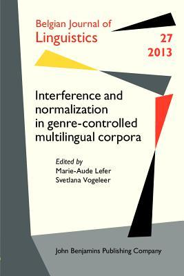 Interference and Normalization in Genre-Controlled Multilingual Corpora