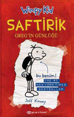 Saftirik Greg'in Günlüğü (Diary of a Wimpy Kid, #1)