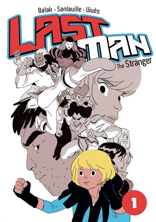 Last Man: The Stranger (Last Man, #1)