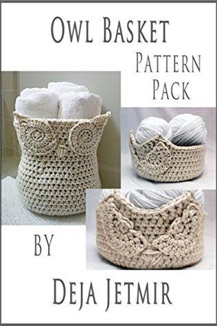 Owl Basket Pattern Pack By Deja Jetmir
