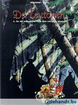 In de schaduw van het zwarte woud (De Teutonen, #1)