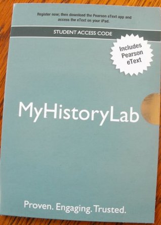New Mylab History with Pearson Etext -- Valuepack Access Card