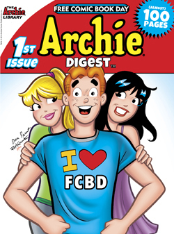 Archie Digest (Free Comic Book Day, #1)