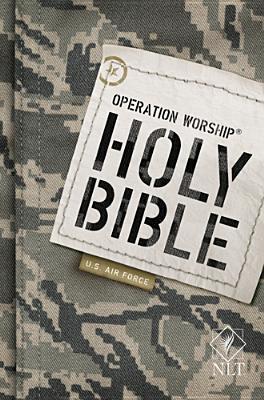 Operation Worship-Bible-NLT-Air Force