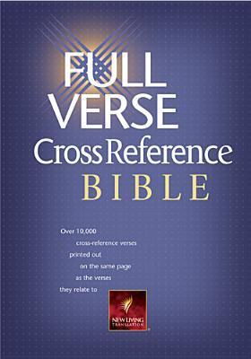 New Living Translation - Full Verse Cross Reference Bible: Dust Jacket