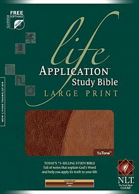 Life Application Study Bible-NLT-Large Print