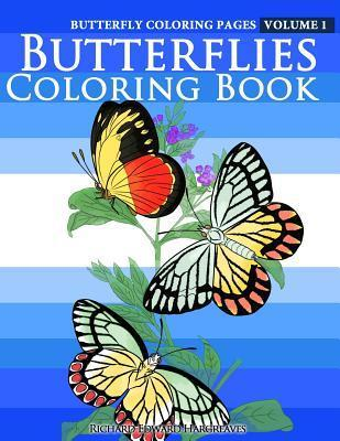 Butterfly Coloring Pages: Butterflies Coloring Book