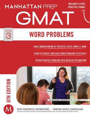 Manhattan Prep GMAT Guide 3: Word Problems