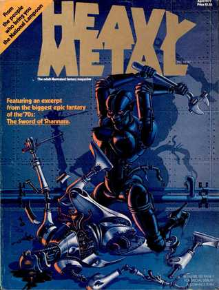Heavy Metal Magazine, Vol. 1, No. 1