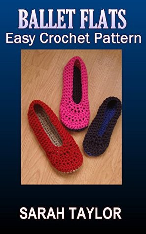 Ballet Flats - Quick and Easy Crochet Pattern