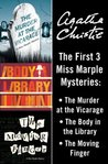 Miss Marple 3-Book Collection 1 by Agatha Christie