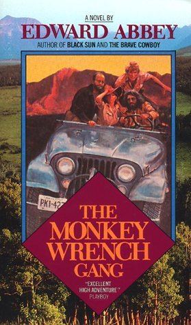 literary analysis of the novel the monely wrench gang by edward abbey and the end of nature by bill  The novel's setup strongly evokes the monkey wrench gang, which also involves a quartet of law-flouting radicals who protest the power structure but are mindful not to put anybody in harm's way abbey's radicals travel across utah and arizona pulling out survey stakes, breaking bulldozers, and blowing up (empty) bridges in the name of.