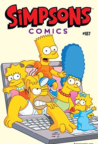 The Simpsons Comics 187