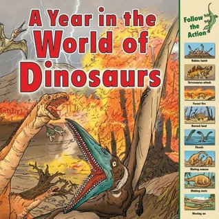 A Year in the World of Dinosaurs by Elizabeth Havercroft