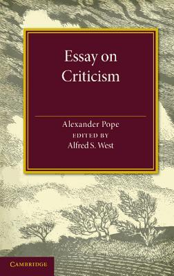 an essay on criticism notes