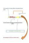 Reejecttion by Daniel Clausen