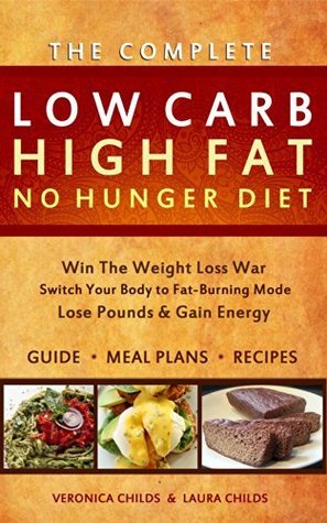 Keto Hybrid Diet for Weight Loss: Low Carb High Fat No Hunger Diet & Cookbook