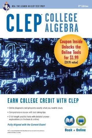 CLEP College Algebra Book + Online