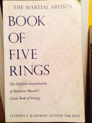 Martial Artists Book Of The Five Rings By Stephen F Kaufman