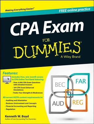 CPA Exam for Dummies with Access Code