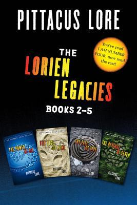 The Lorien Legacies Books 2-5