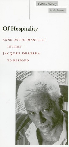Of Hospitality by Jacques Derrida