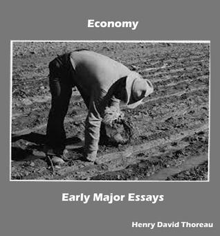Economy: Early Major Essays