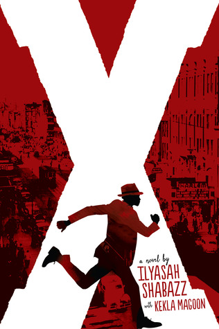 book cover: X by Ilyash Shabazz