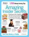 Amazing Insider Secrets: 1703 Money Saving Tips