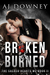 Broken & Burned (The Sacred Hearts MC #2) by A.J. Downey
