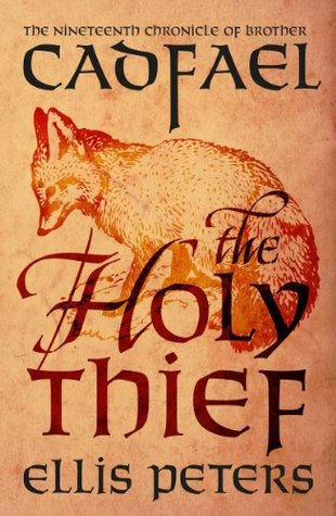 book cover: The Holy Thief (Brother Cadfael series #19) by Ellis Peters