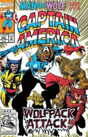 Captain America #406