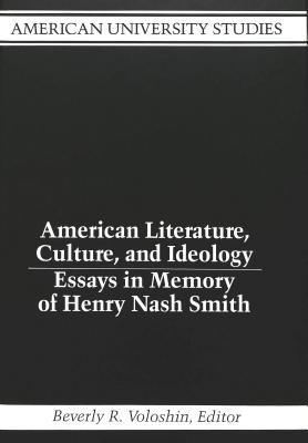 ePubs ] Books: American Literature, Culture, And Ideology: Essays In