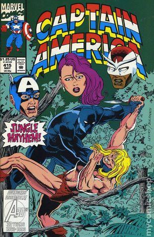 Captain America #415