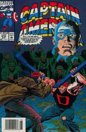 Captain America #418