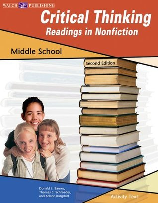 Critical Thinking: Readings in Non-Fiction Middle School
