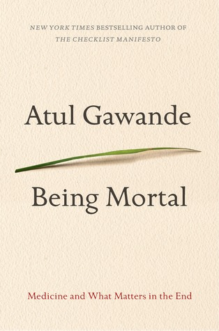 Image result for being mortal book cover